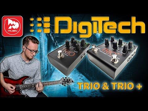 DIGITECH TRIO и DIGITECH TRIO + (со встроенным лупером)