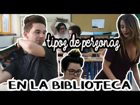 TIPOS DE PERSONAS EN LA BIBLIOTECA