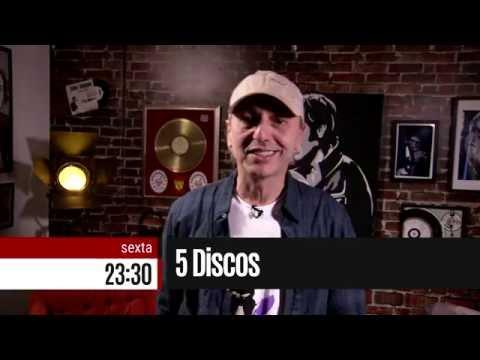 """""""5 Discos"""" estreia nesta sexta, às 23h30"""