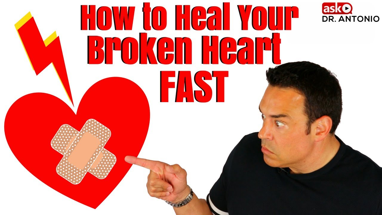 How to get over a heartbreak fast