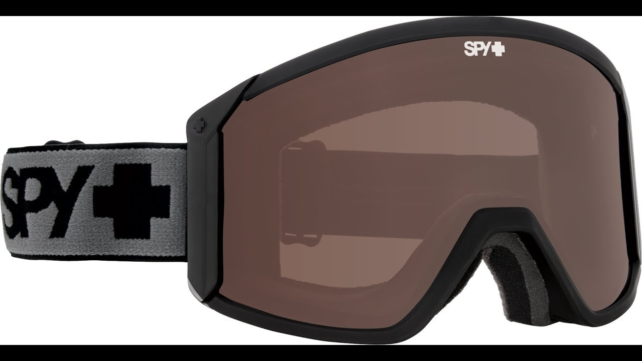 f586a98602f4 SPY Raider Snow Goggle Product Knowledge Video - YouTube