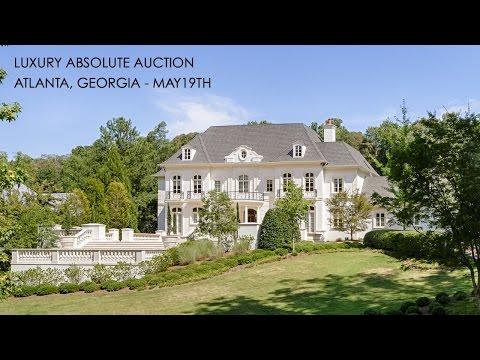 European Luxury Mansion for Sale in Atlanta Georgia [2 Acres]