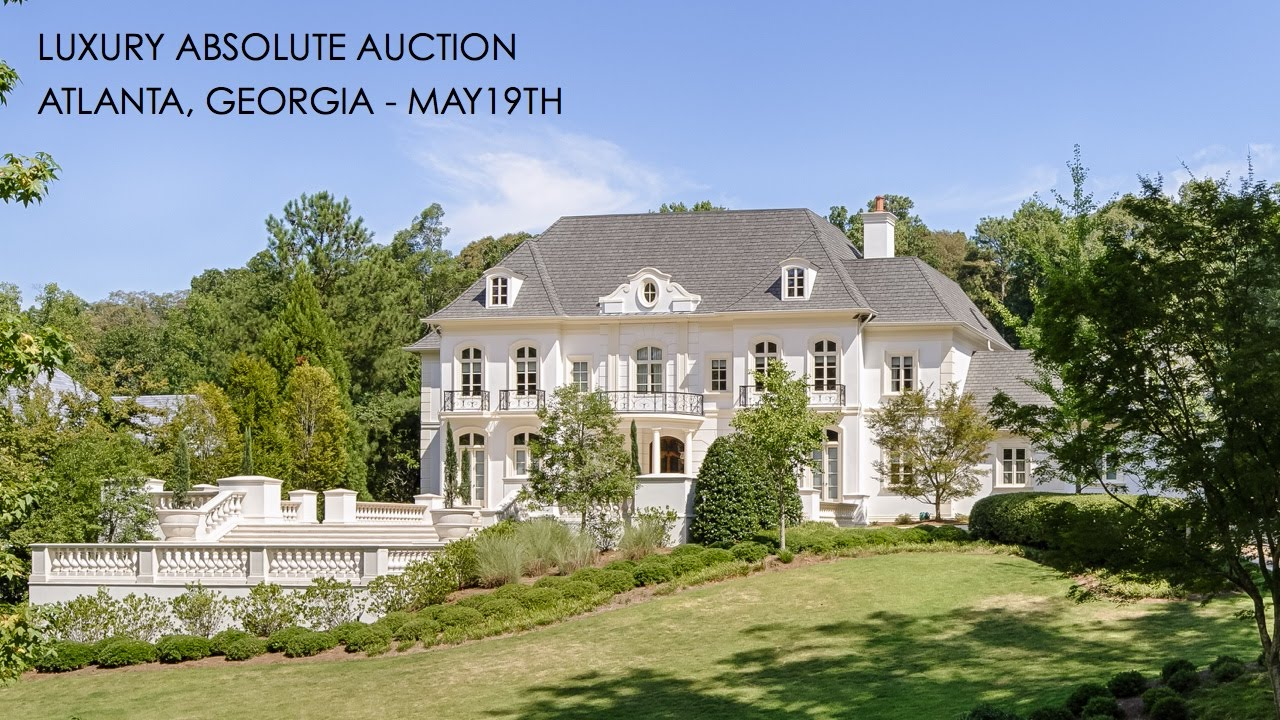 European Luxury Mansion For Sale In Atlanta Georgia 2