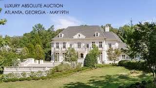 European Luxury Mansion for Sale in Atlanta Georgia [2 Acres]