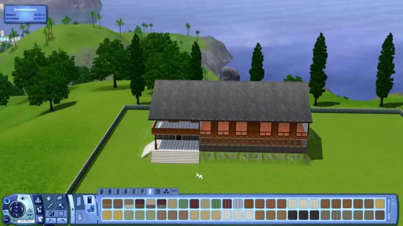 Sims 3 haus bauen 2 jagdhaus