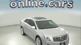 C97657TA Used 2015 Cadillac XTS Luxury FWD 4D Sedan Silver Test Drive, Review, For Sale