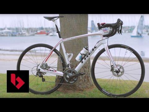 Trek 2015 Domane 6 2 Disc - Road Bike Review - YouTube