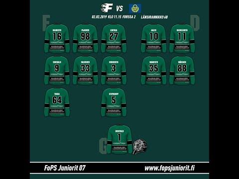 Fops vs Rauman Lukko E1 6B 2.2.2019