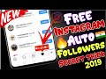 How To Get Real Instagram followers for free 2019 | New secret trick for Instagram followers🔥🔥