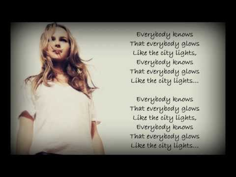 Bridgit Mendler - City Lights Lyrics (HD)