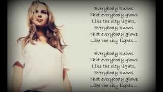 Bridgit Mendler - City Lights Lyrics (HD)