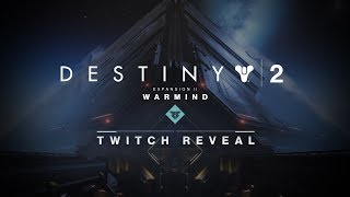 Join developers from Bungie and Vicarious Visions for a look at a new destination to explore, a new cooperative endgame activity to master, and new ways to level up in the Crucible. The reveal of 'War