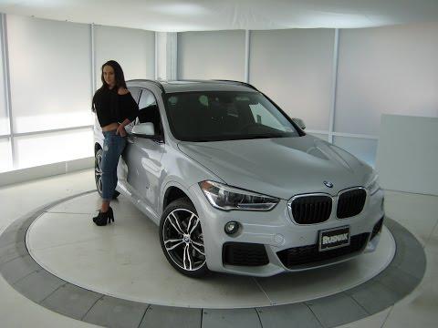 "2017 BMW X1 Xdrive 28i M Sport Package / 19"" M Wheels / Exhaust Sound / BMW Review"