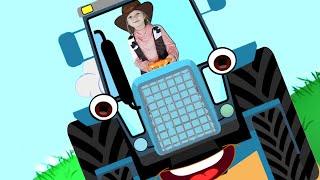 Old MacDonald Had a Farm song - Kids nursery rhymes with Olivia Kids Tube
