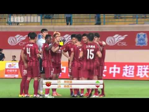 Eran Zahavi goals - Guangzhou RF 3:3 Shanghai SIPG - Official Highlights