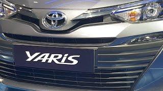 Toyota Yaris Sedan For India At Auto Expo 2018