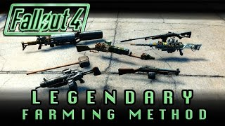 Fallout 4 Super Fast Legendary Farming Method - With Locations Working as of June 2016