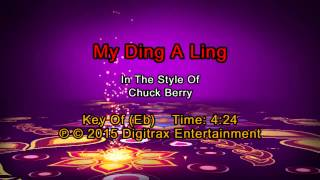 Chuck Berry - My Ding-A-Ling (Backing Track)