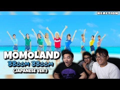 MOMOLAND - BBOOM BBOOM (JAPANESE VER.) | Mv REACTION