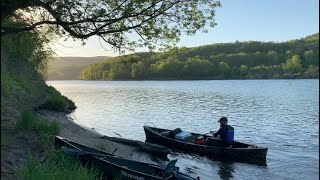 Canoe camping! 3 dąys on the Connecticut river! Part 1 /First trip in my new Wenonah Fusion canoe !!