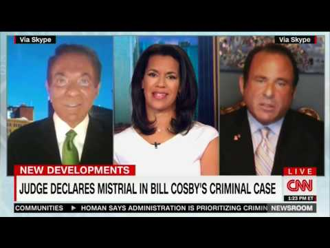 Richard Herman CNN 6/17 BILL COSBY Hung Jury - Same Result or Acquittal on Re-Trial