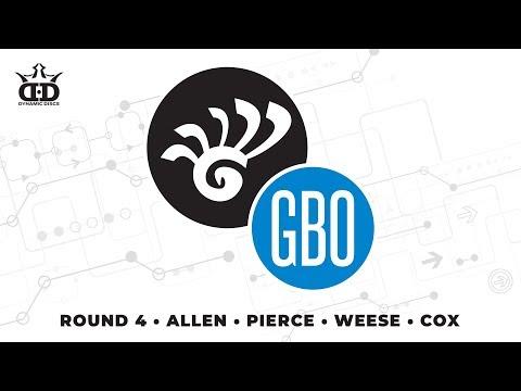 Glass Blown Open 2019 - FPO Round 4 LIVE - Allen - Pierce - Weese - Cox
