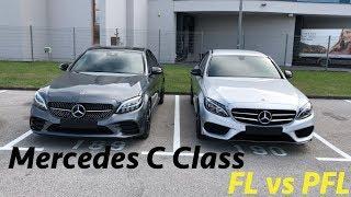 Download Video Mercedes-Benz C-Class 200d 2019 FL vs PFL (Sky Edition) 4K MP3 3GP MP4