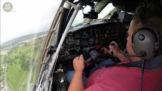 REAL MAN!!! Captain lifts off his HEAVY Antonov 12 using pure muscle work!!! [AirClips]