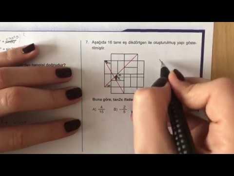 345 AYT Matematik Trigonometri-II Ösym Tadında-2 Anlatımlı Çözümleri (2018-2019 basım)