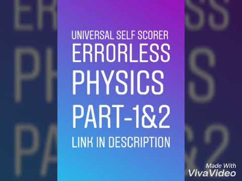 Universal Errorless Physic Link Pdf Free Download Ncr Class 11 By