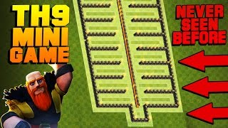 "Clash of Clans | TH9 Troll Base / Mini Game Base 2017 | ""Flat"" 