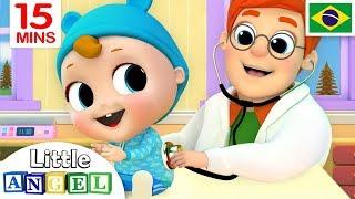 O Bebê Vai ao Médico, B-I-N-G-O e Mais! | Historinhas e Músicas Infantis | Canal do Joãozinho