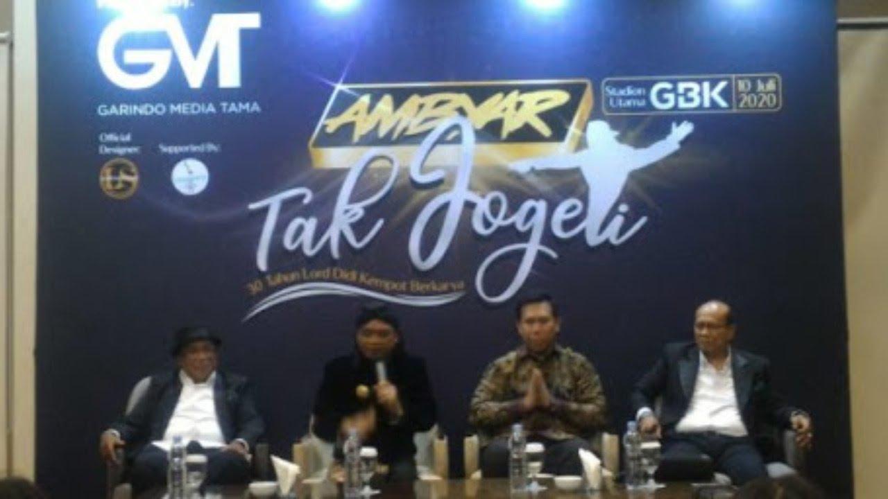 """Konferensi pers """"Ambyar Tak Jogeti"""" Tribut To DIDI KEMPOT"""