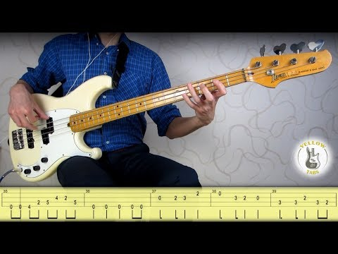 Roy Orbison - Pretty Woman (Bass cover with Tabs)