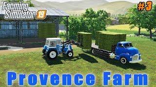 Picking Hay Bales Fertilizing Fields Farmer Weekdays In Provence FS 19 Timelapse 03