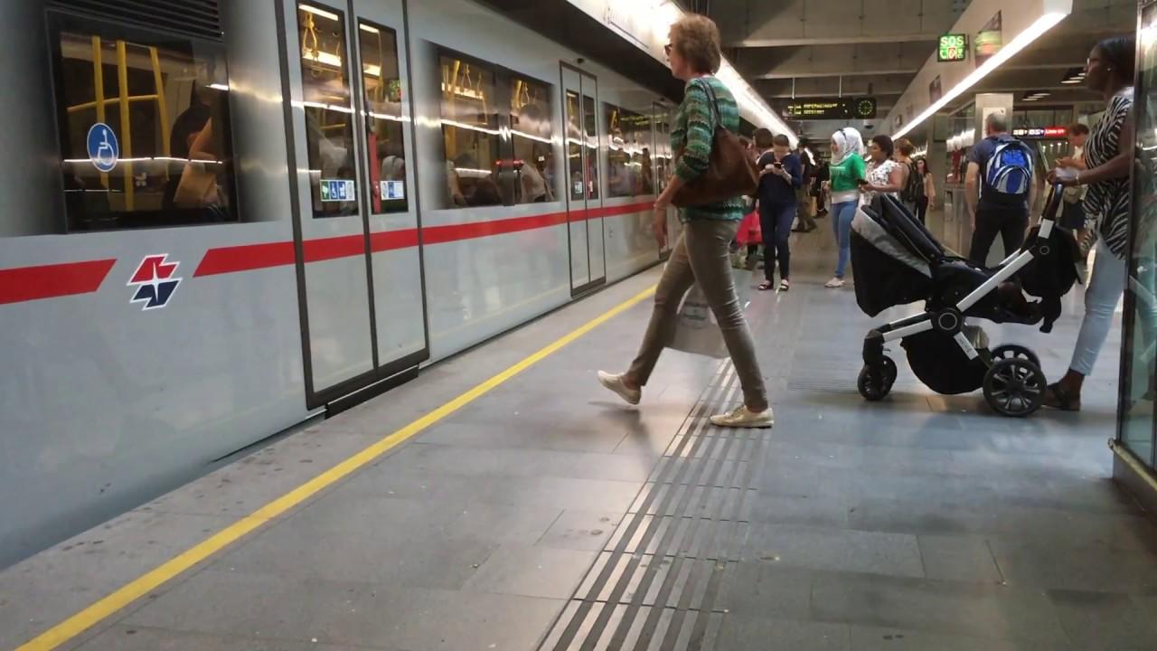 Wiener Linien U2 Praterstern Youtube