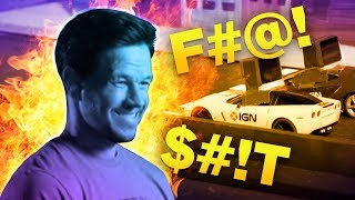 Watch Mark Wahlberg Blow Up Remote Controlled Cars