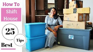 25 BEST House Shifting / Packing Tips & Tricks For Moving