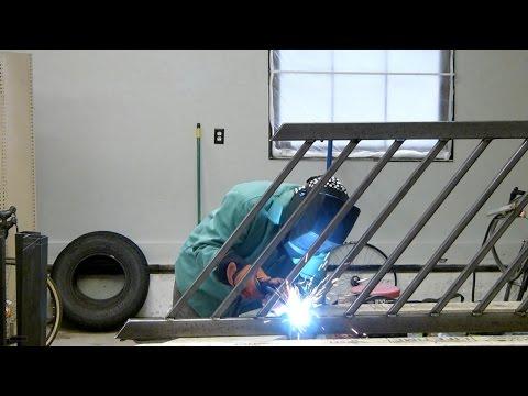 Welding a Steel Handrail