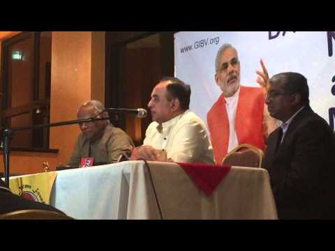 Dr Subramanian Swami In Dallas TX AUG 27, 2015