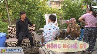 Xóm hóm | 13.08.2017 - S43 | Mộng nghệ sĩ | Xom hom | Phim hài 2017