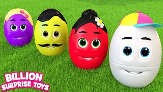 Truck with Surprise eggs | BST Song for Kids