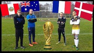 COUPE DU MONDE CHALLENGE ! LE GROUPE DE LA FRANCE !