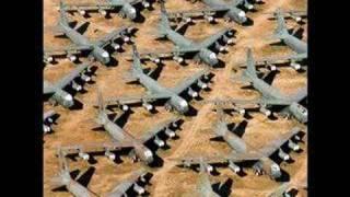 "The ""Bone Yard"" Near Davis Monthan Air Force Base"