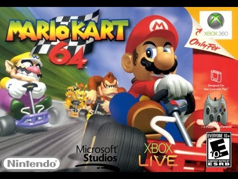 How To Put Mario Kart On Xbox 360 Youtube