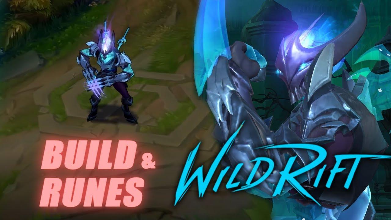 DEATH SWORN ZED Gameplay - FAST COMBO! Build & Runes | LOL Wild Rift OUTSIDER
