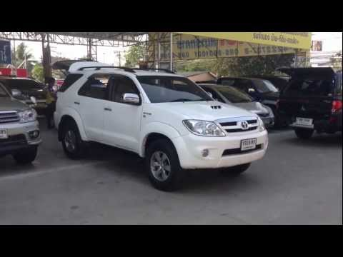 รีวิว 2006 TOYOTA -- FORTUNER -- 3.0 [V] Exclusive AT 4WD จาก srshowroom.com