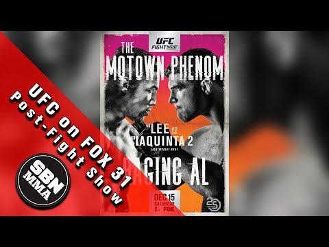 UFC on FOX 31 Lee vs Iaquinta 2 Post-Fight Show
