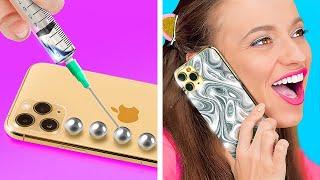 아이폰 장식 DIY 및 미술 아이디어! || 123 G…