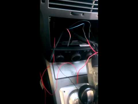 OPEL ASTRA H CD30 MP3 AUX (EXTERNAL İN) SİSTEMİ MONTAJİ